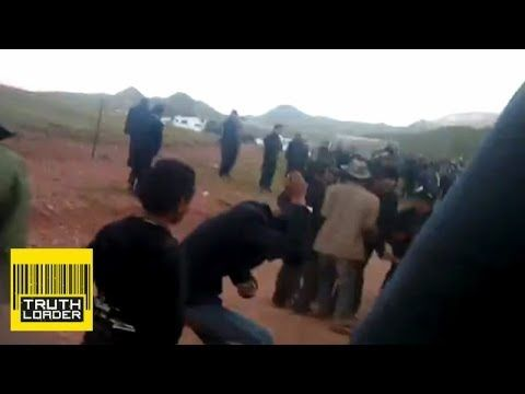 Machine guns fired on Tibet mine protesters - Truthloader