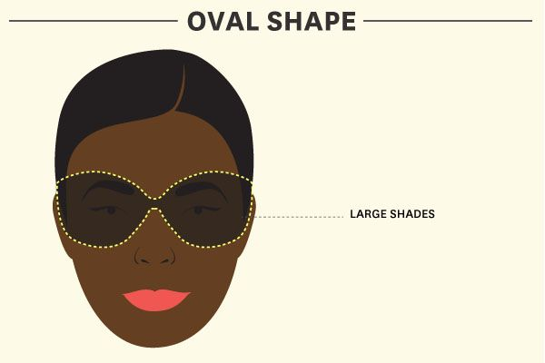How To Find Sunglasses That Actually Fit: 5 Face Shapes, Tons Of Shades #refinery29
