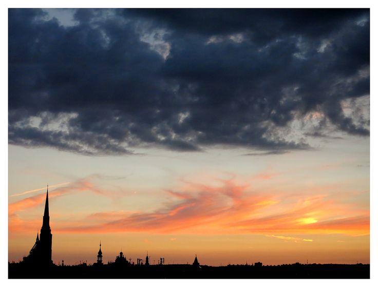 https://flic.kr/p/okMiKK | Czech sunset (Plzen skyline) | Plzen (Czech Republic) / Pilsen (République Tchèque)