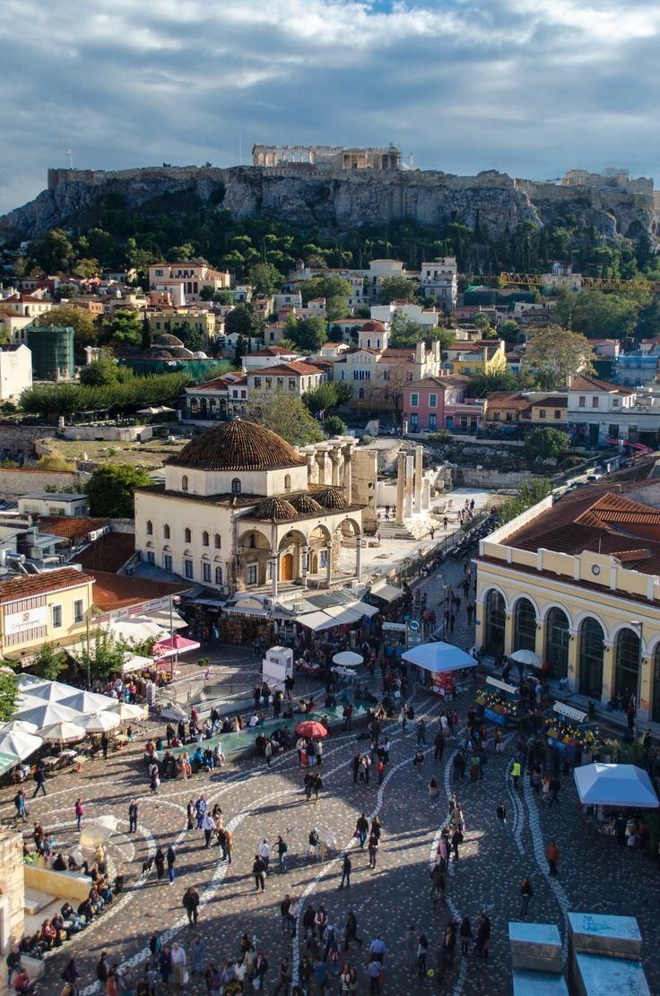 Athens view by Denys Tsutsayev on 500px