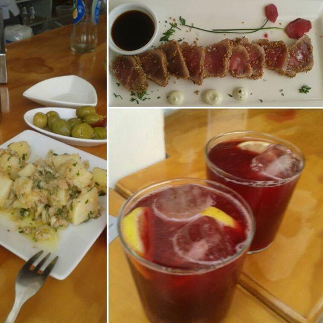 Un #almuerzo en el #chiringuito. by yacarli