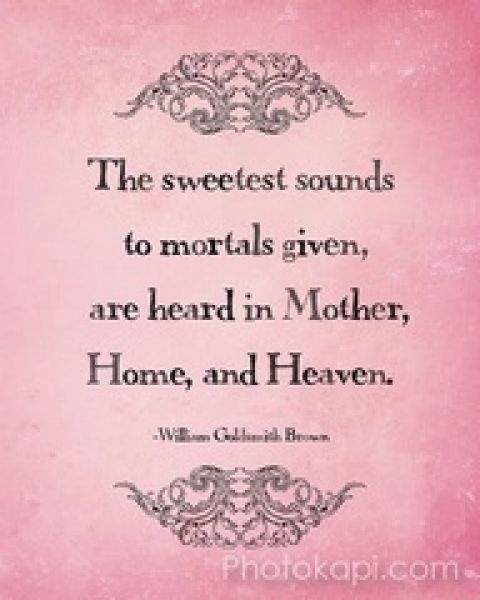 Short Mom Quotes: Cute Poems About Mothers Short And Sweet Mothers Day Poems