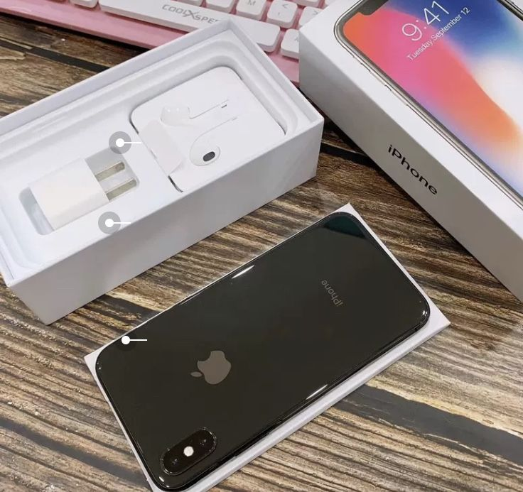Apple Iphone X Black Or White Special Offer Iphone Refurbished Iphones Apple Iphone