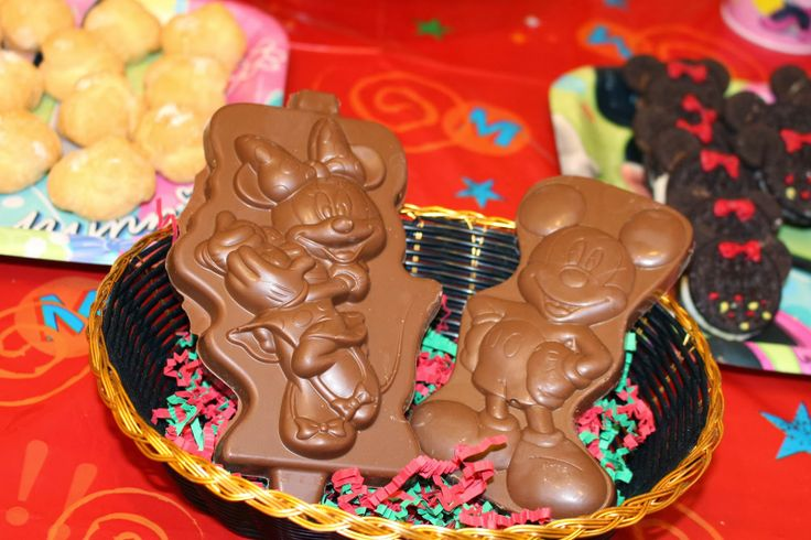 Mickey and Minnie Chocolates