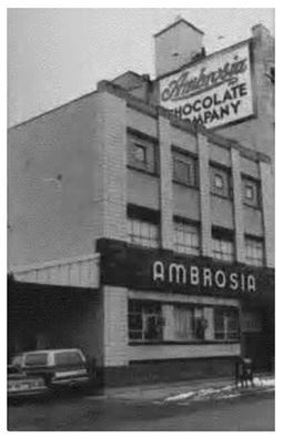 Ambrosia Chocolate Downtown Milwaukee A three story brick building with mill construction and