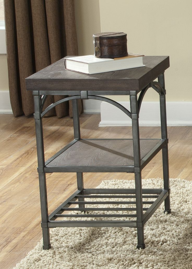rustic chic chair side table sales liberty furniture living room