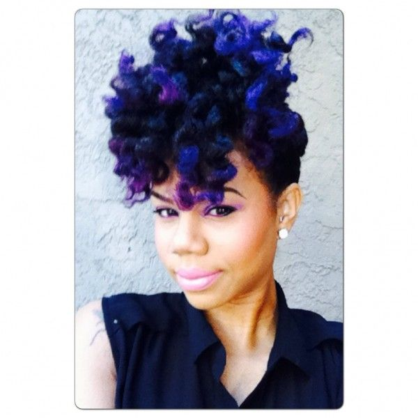 Semi Permanent Hair Dye and Clear Rinses for Natural Hair
