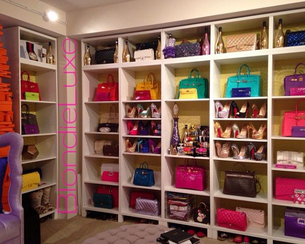 Purses Closet   Blondie Luxe