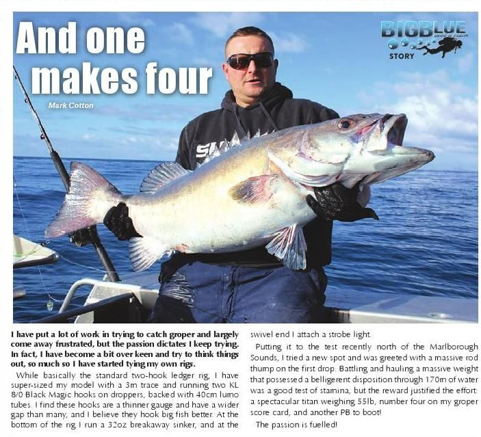 #ClippedOnIssuu from Issue 118 - The Fishing Paper & New Zealand Hunting News