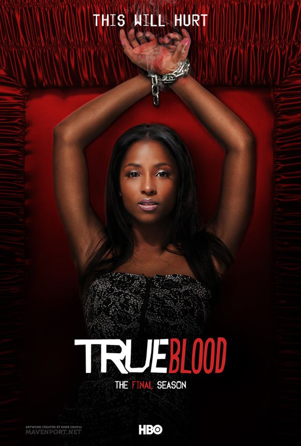 True Blood: The Final Season (Posters) by Emre Ünaylı, via Behance.