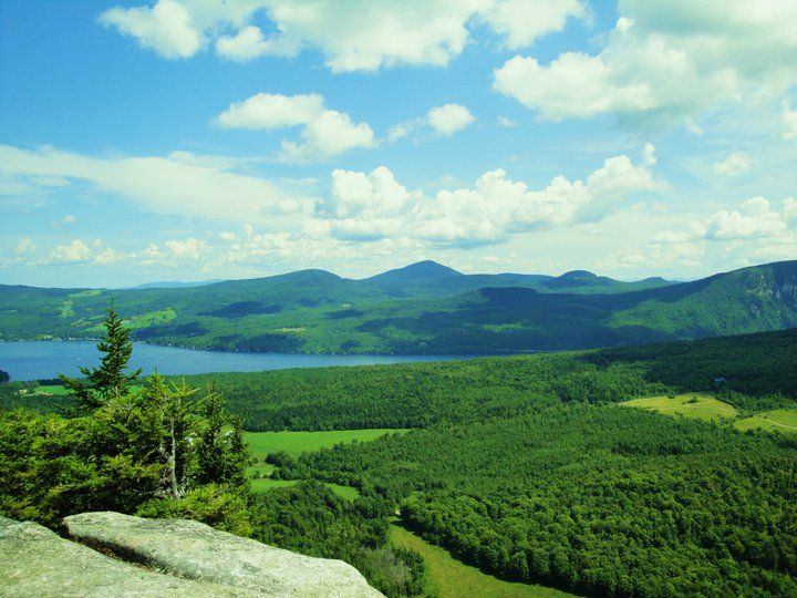 Mt Pisgah from Mt Hor | Mt Hor, Westmore, VT | Walter