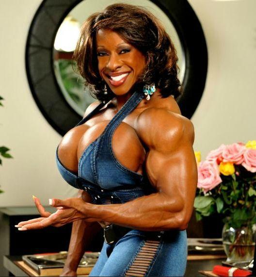Female Ebony Bodybuilder 73