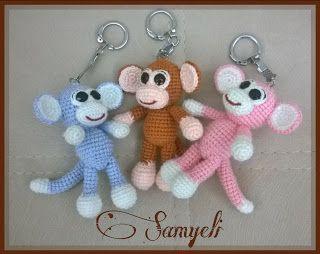 Samyelinin Örgüleri: Maymun Anahtarlık