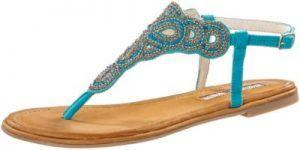 Schuhe günstig kaufen | Buffalo Zehensandalen Damen türkis | 04054578049301