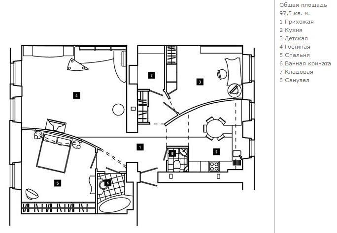 планировка квартиры 200 кв.м проект - Поиск в Google