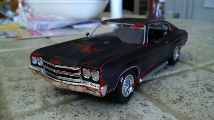 Chevelle SS walking dead style