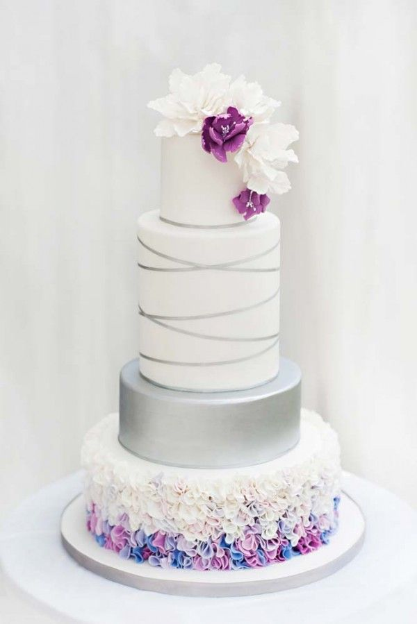 Canada's Prettiest Wedding Cakes of 2014 - including one from Halifax!
