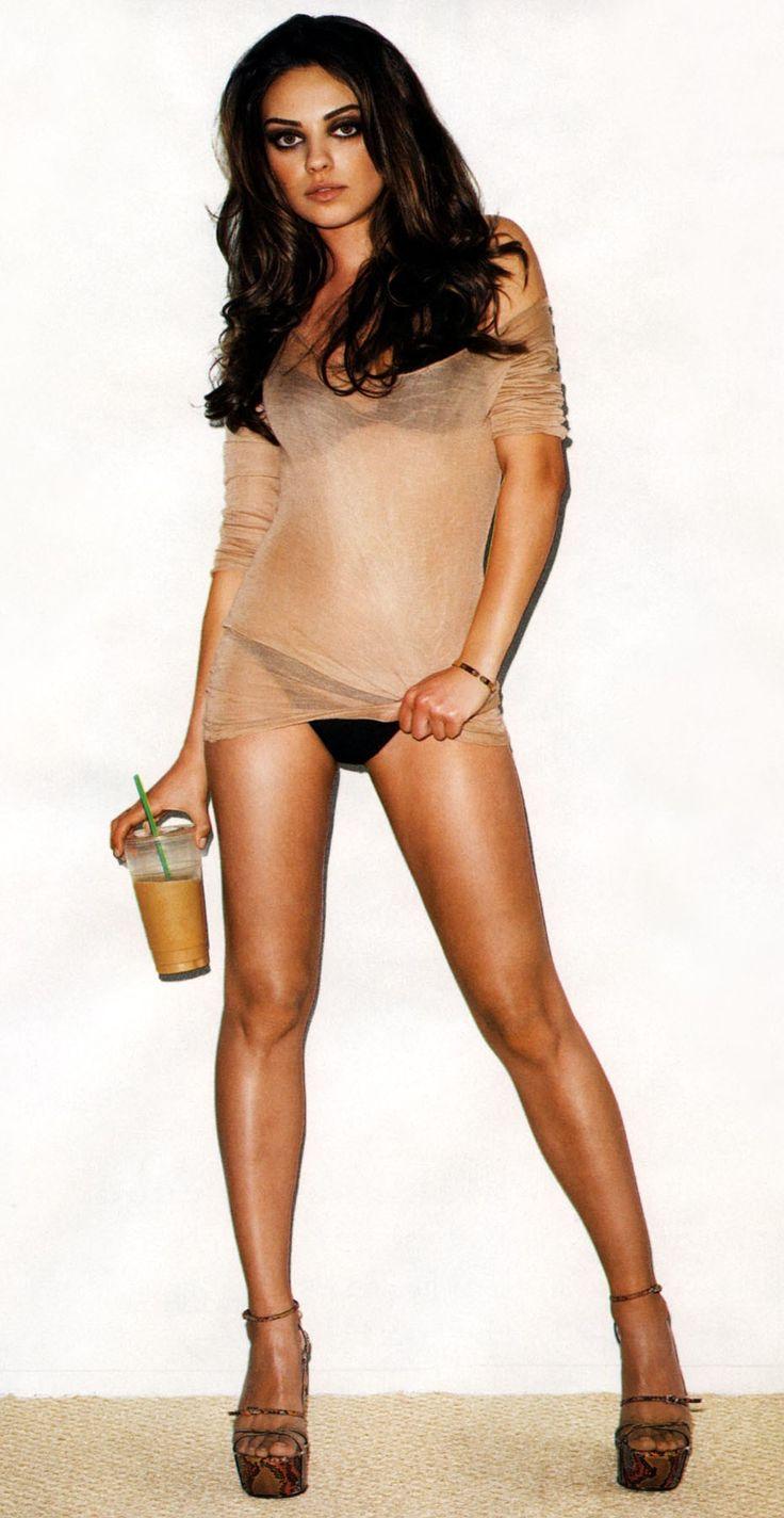 Mila Kunis.... LESBI-honest, I'd go to the other side for her! Haha