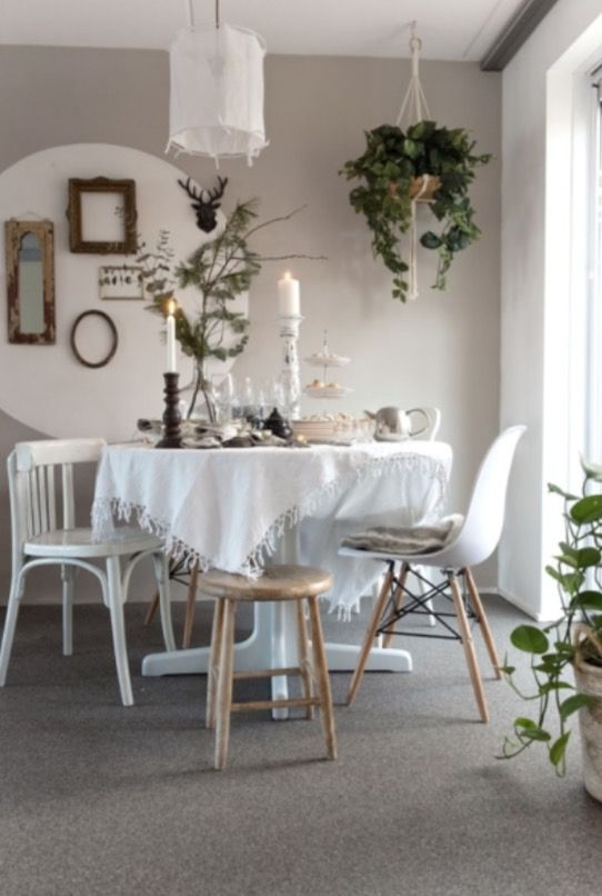 "This festive dining area is from our feature ""Believe in the Magic"""