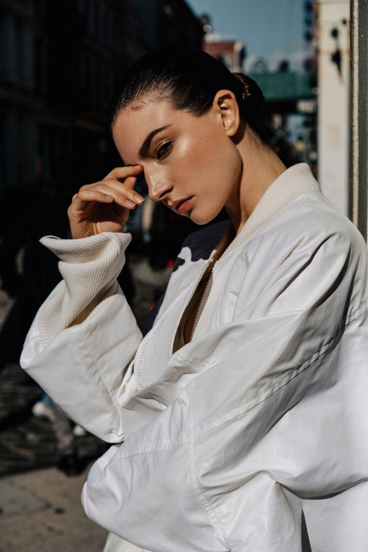 Bynnz loves: this urban fashion editorial for Harper's Bazaar Serbia's January 2017 issue, featuring Jacquelyn Jablonski, photographed by Paul McLean and styled by Anna Katsanis.