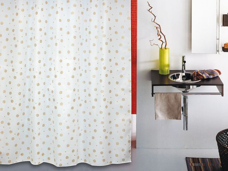 WESS Rich - занавеска для ванной комнаты из ткани 180x200 см. Цена 725р. Посмотреть на сайте: http://likemyhome.ru/catalog/shtorki-karnizy-kolca/00003802 #likemyhome #showercurtain #bathroomdecor #interiorstyle #wess #rich