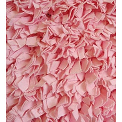 Looove this area rug! http://www.overstock.com/Home-Garden/Soft-Cotton-Pink-Shag-Rug-47-x-7/4079261/product.html