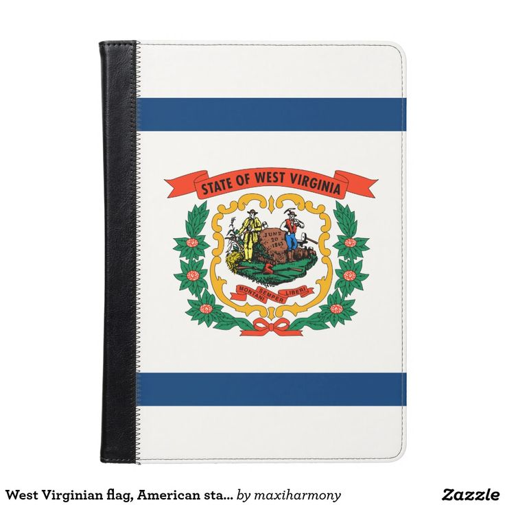 West Virginian flag, American state flag