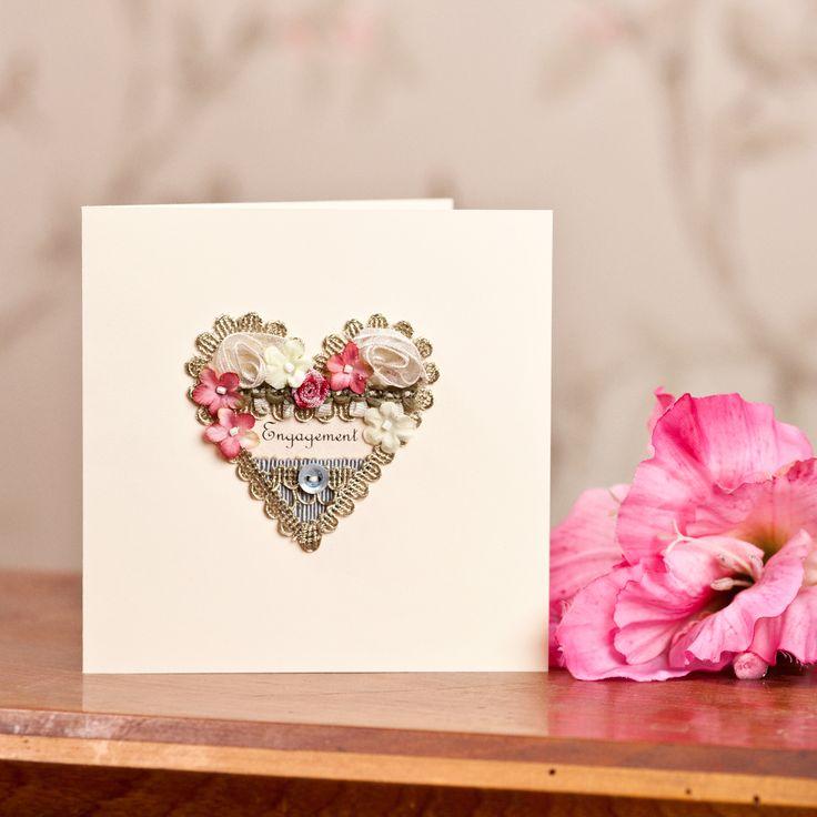 13 best Handmade Engagement Cards images on Pinterest | Handmade ...