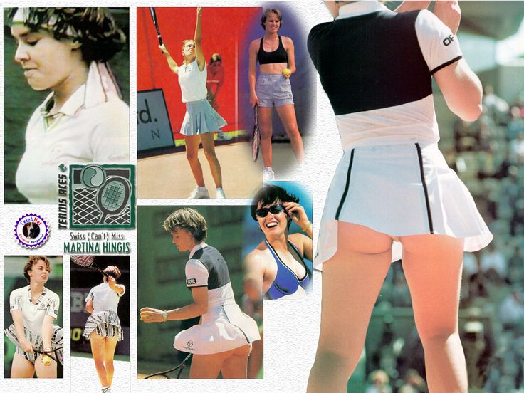 Martina Hingis sexy Bild