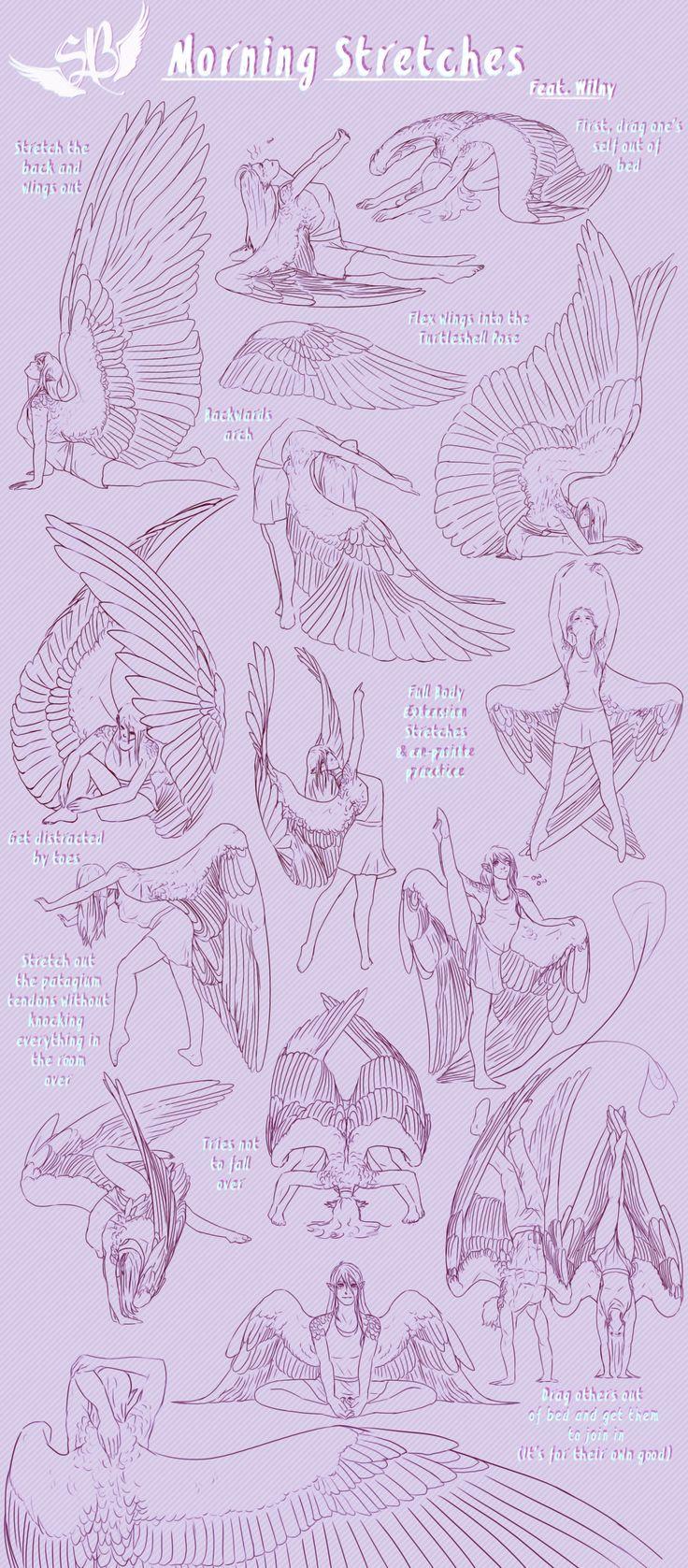 a mi siempre me han encamtado los angeles a si que aqui teneis un par de dibujos                                                                                                                                                                                 Más