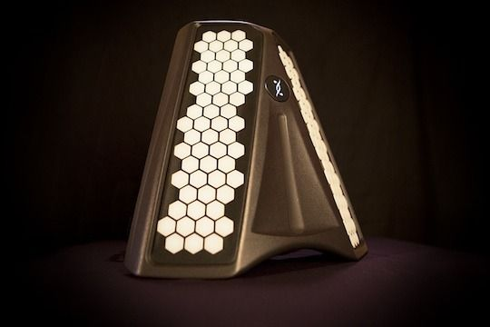 Dualo Du-touch New Musical Instrument with Intuitive keyboard placement