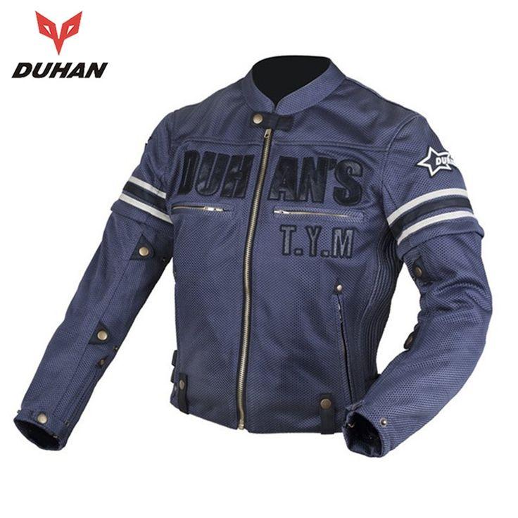 74.00$  Watch here - http://alizrd.shopchina.info/1/go.php?t=32635762666 - DUHAN Summer Men Motorcycle Jacket Mesh Motorcycle Textile Jacket Motorcycle Racing Jackets Protector Mesh Jacket  #buyonlinewebsite