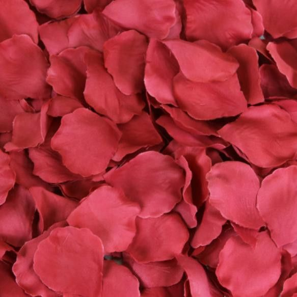 Silk Rose Petals (Set of 200)