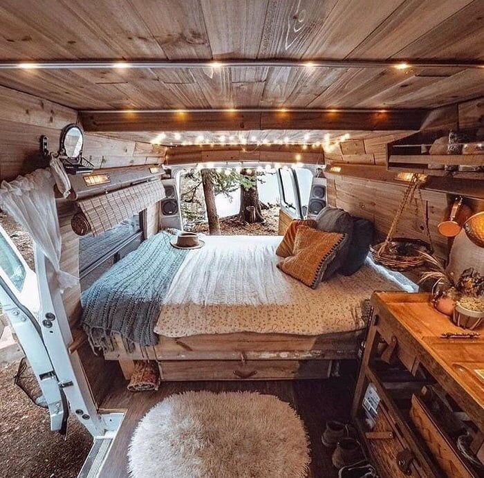 Dream: Customize a van and travel