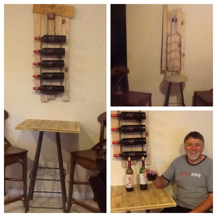 Turn an unwanted stool into a Bistro Table!