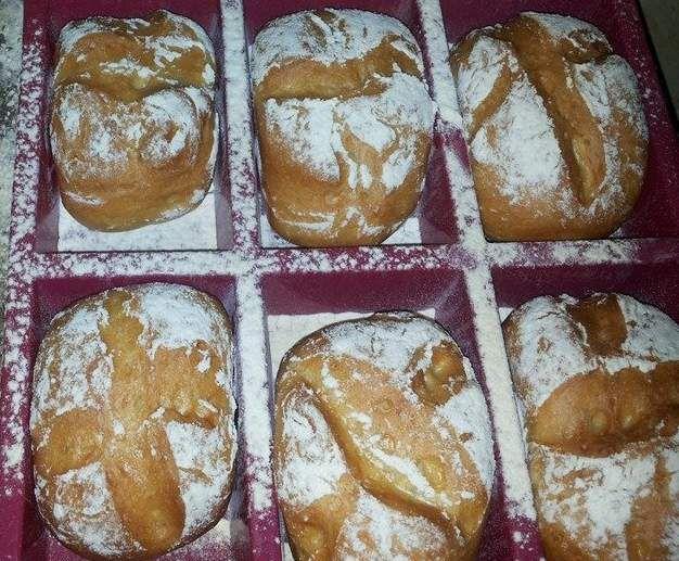 Rezept Knusprige Sonntagsbrötchen von susi75 - Rezept der Kategorie Brot & Brötchen