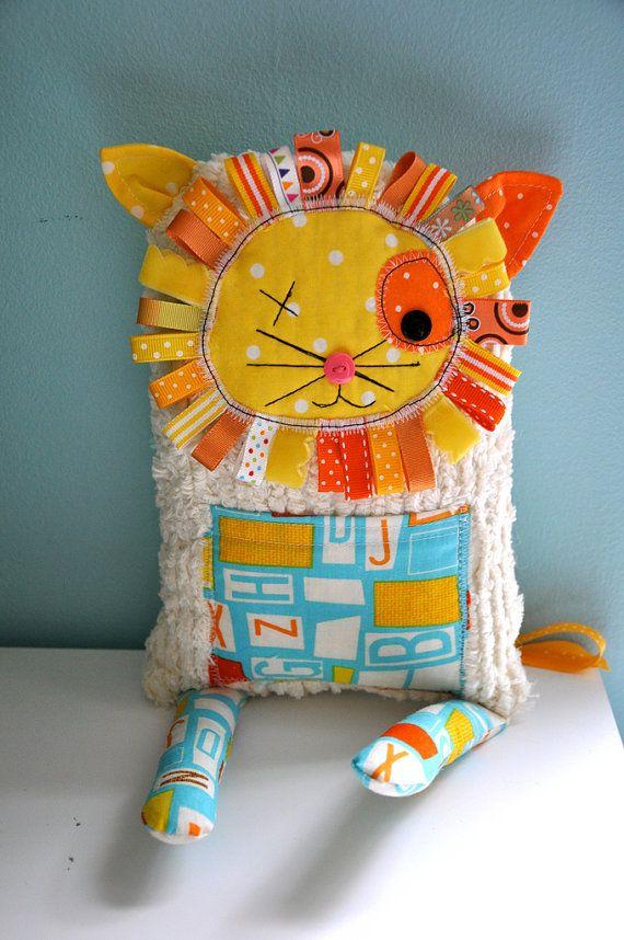 cute lion plushie