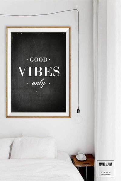 A3 plakat_good vibes only - MAMBALAGA - Boże Narodzenie