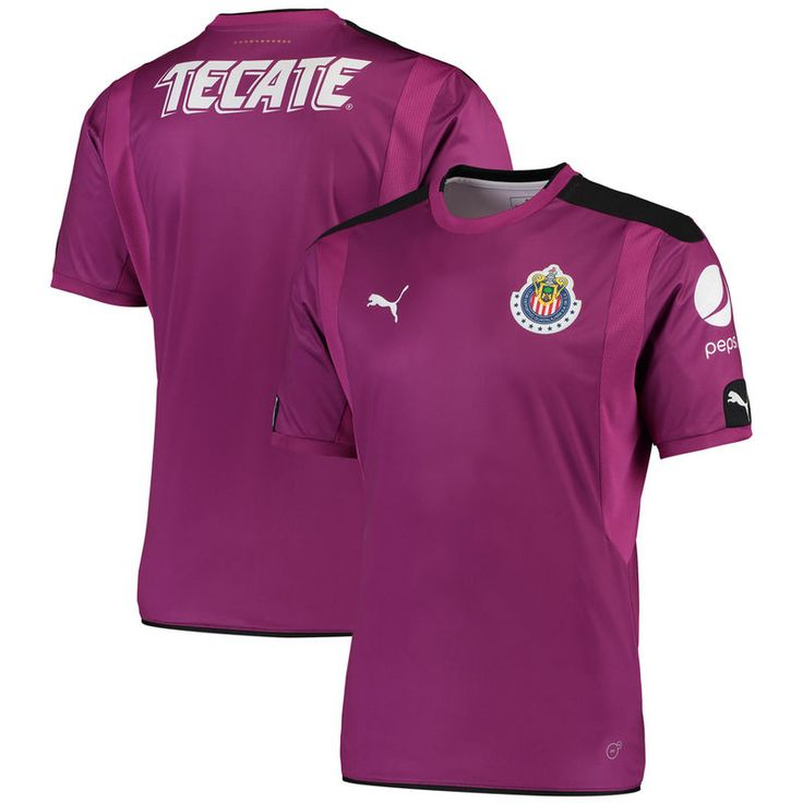 Chivas Puma 2016/17 Home Goalkeeper Replica Jersey - Purple/Black