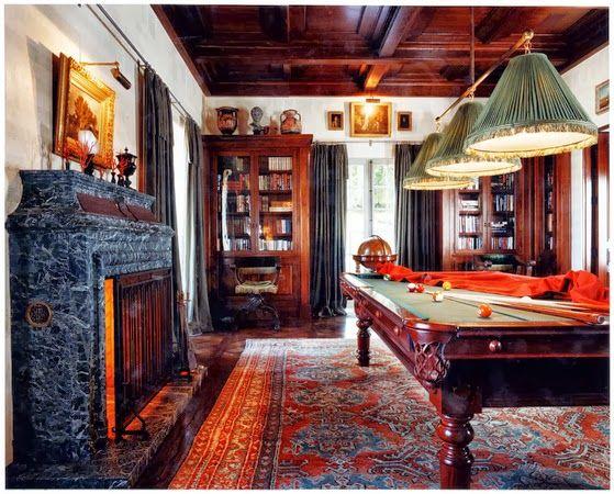 Billiards Game Room