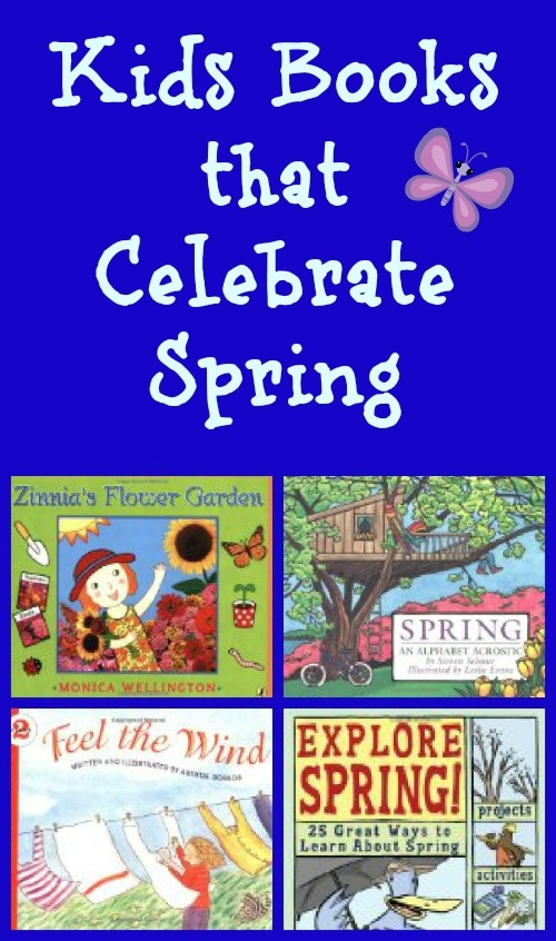 Great Kids Books for Spring - weather, baby animals, gardening and more seasonal fun!