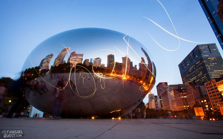 Sense8 Filming Locations In Chicago And Iceland: The Bean / Cloud Gate | #travel #Chicago #movies #Iceland