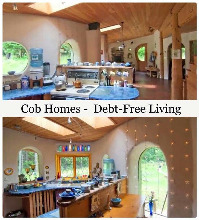 Cob Home ... Debt Free Living
