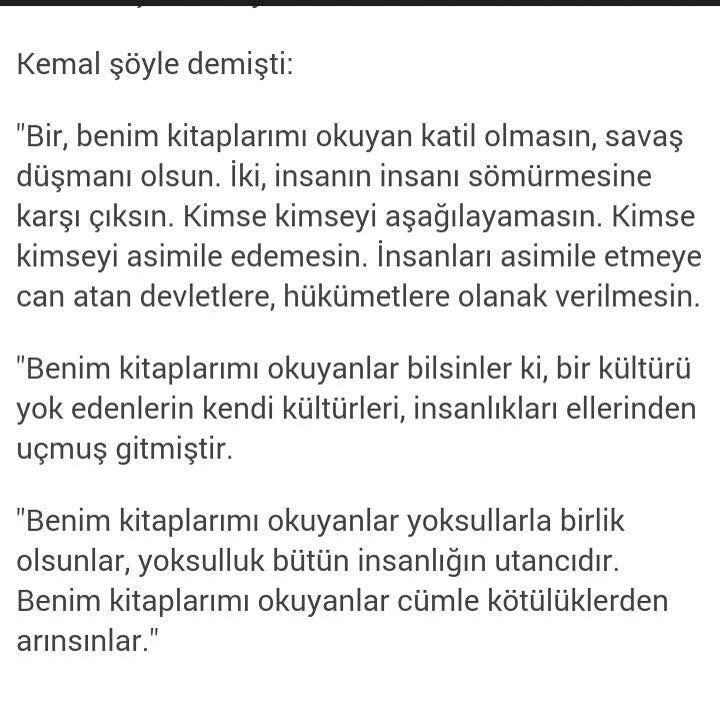 Yaşar Kemal ....