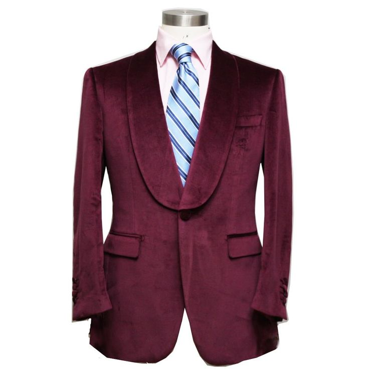 HUNDERSFIELD CLOTH burgundy / RED WINE velveteen man's wedding / evening dinner suit, custom tailor made MTM suit free shipping //Price: $1352.00 & FREE Shipping //     #hashtag4