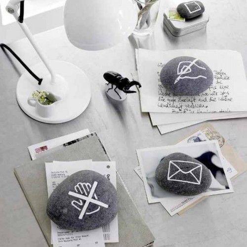 25 Idées spéciaux à utiliser cailloux pour décorer votre intérieur et extérieur | Shelterness