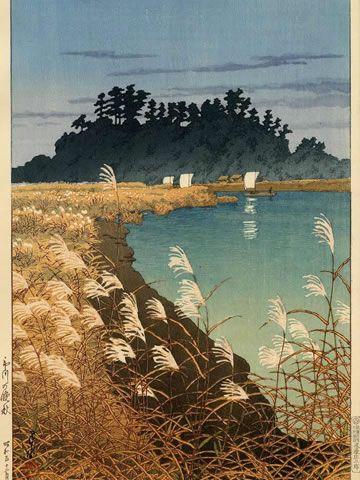 KAWASE Hasui (1883~1919), Japan/ woodblock print