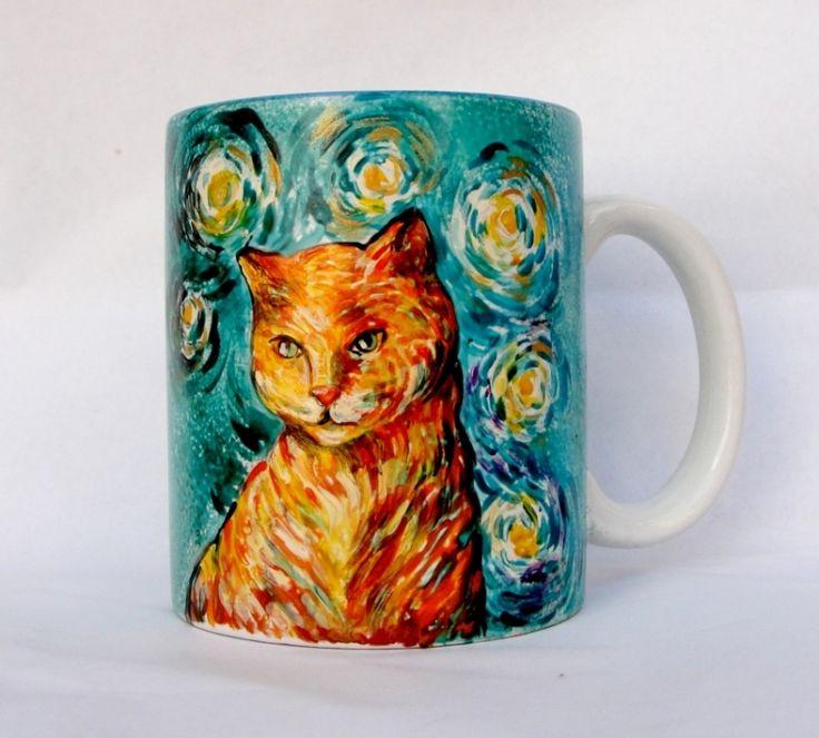 """Cana+""""Van+Gogh+Cat""""+"""