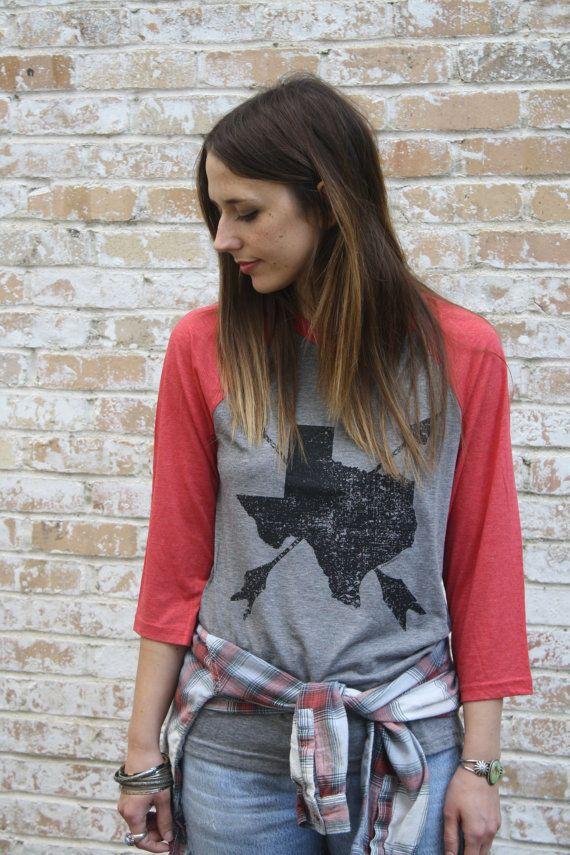 Texas Home shirt MEDIUM. Unisex Adult Texas Arrows by arosyoutlook