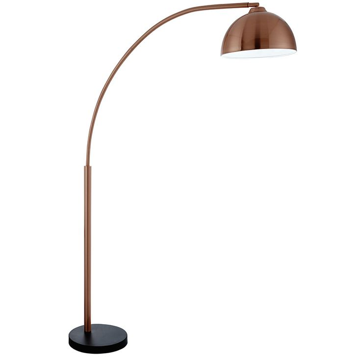 Add Statement Retro Style To Your Home With This Giraffe Copper Curved Floor  Lamp ❤ Part 86